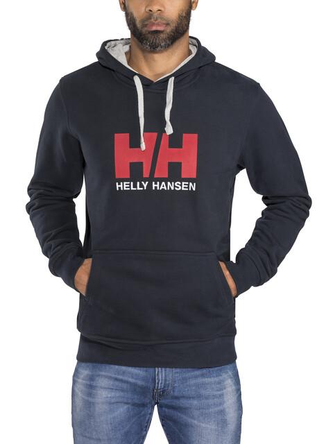 Helly Hansen Logo Miehet Välikerros , sininen